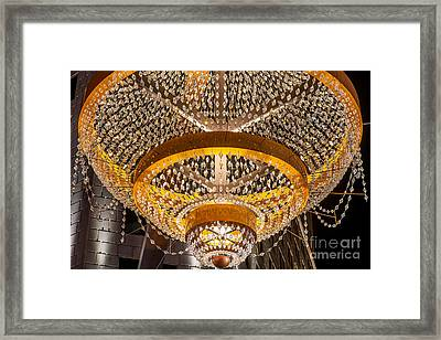 Playhouse Square  Chandelier  Framed Print by Frank  Cramer