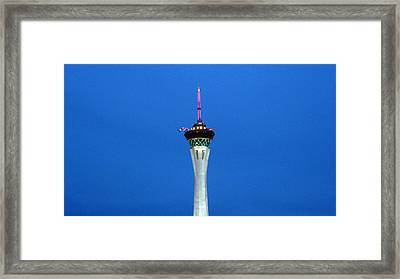 Playhouse In The Sky Framed Print