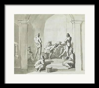 Historical Drawings Framed Prints