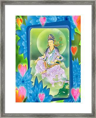 Playing Avalokitesvara 1 Framed Print