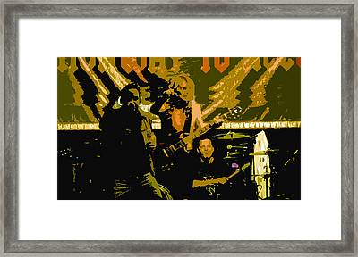 Playing Hard Framed Print by David Lee Thompson