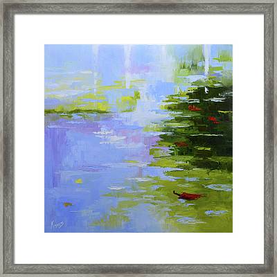 Playing In Puddles Framed Print by Mike Moyers