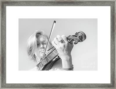 Framed Print featuring the photograph Playing Me Softly by Bob Christopher
