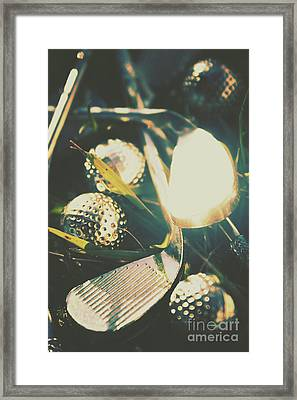 Playing The Golfing Field Framed Print by Jorgo Photography - Wall Art Gallery
