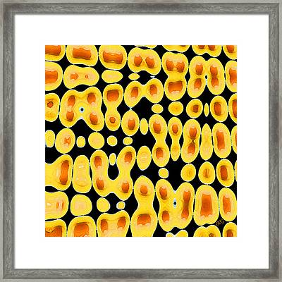 Playing With Eggs Framed Print