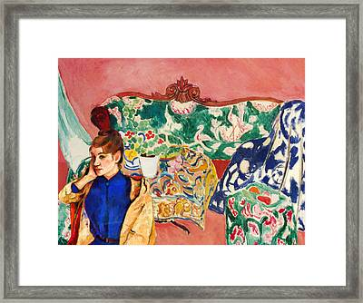 Playing With Henri Matisse Framed Print