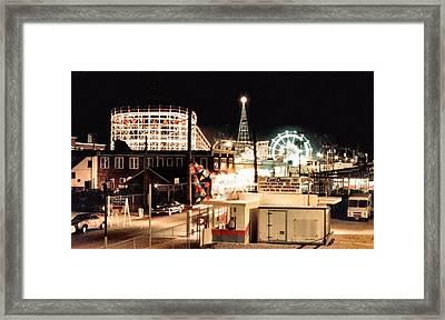 Playland Framed Print by Bruce Lennon