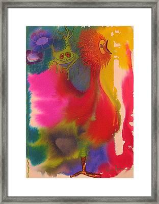Playmates 2 Framed Print by Valerie Aune