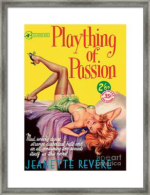 Plaything Of Passion Framed Print