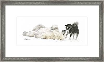 Playtime Framed Print by Lorrisa Dussault