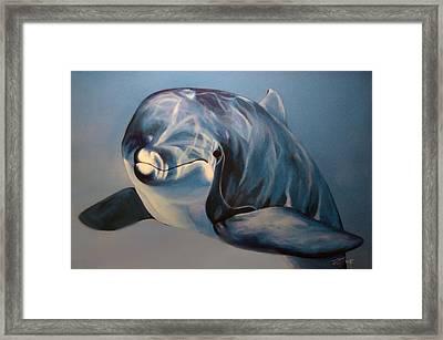 Playtime Framed Print by Rusty W Hinshaw