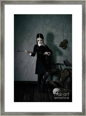 Playtime Framed Print by Spokenin RED