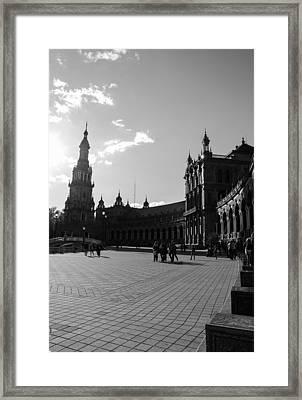 Plaza De Espana 12 Framed Print
