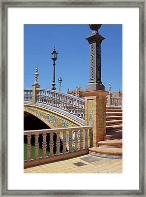 Plaza De Espana, Seville Framed Print