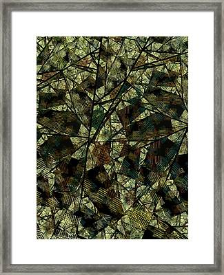 Plaza Framed Print by Ian Duncan Anderson