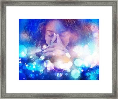 Framed Print featuring the digital art Pleasant Daydream by Gun Legler