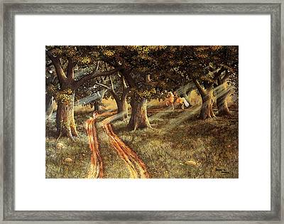 Pleasant Escape Framed Print