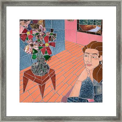 Pleasant Thoughts Framed Print by Jonathan Mandell