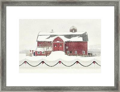 Please Come Home For Christmas Framed Print