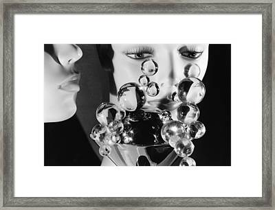 Please Don't Cry In Your Drink Framed Print