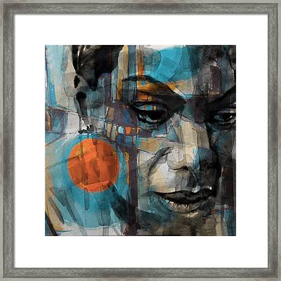 Framed Print featuring the mixed media Please Don't Let Me Be Misunderstood by Paul Lovering