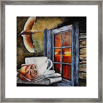 Pleasure Framed Print by Patricia Pasbrig