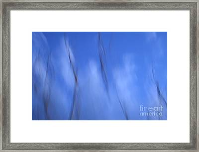 Pleats Of Time 2 Framed Print