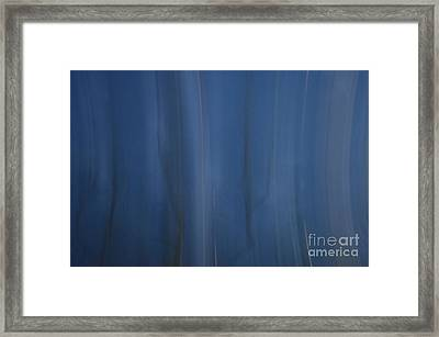 Pleats Of Time 3 Framed Print
