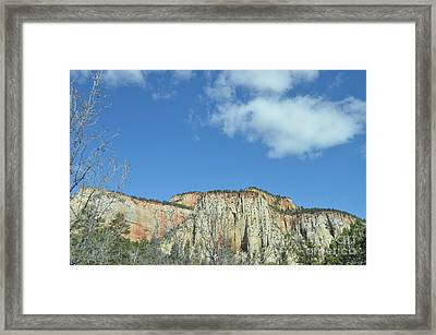 Pleats Of Time 1 Framed Print