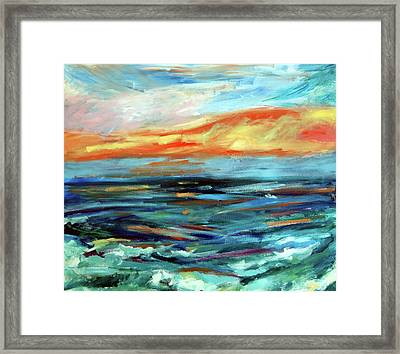 Plein Air Upgrade IIi Framed Print by Donna Crosby