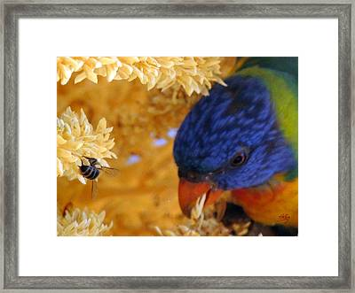Framed Print featuring the photograph Plenty by Linda Hollis