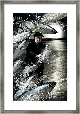 Plenty Of Fish In The Sea Framed Print