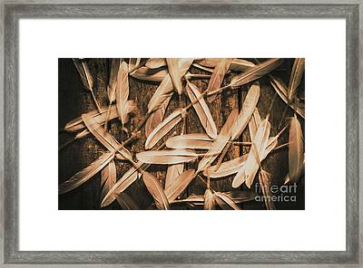 Plight Of Freedom Framed Print