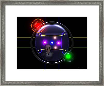 Plot A Course Framed Print by Jim Coe