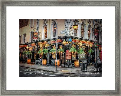 Plough Pub London Framed Print