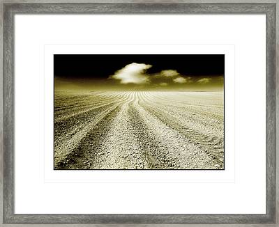 Ploughed 1 Framed Print by Mal Bray