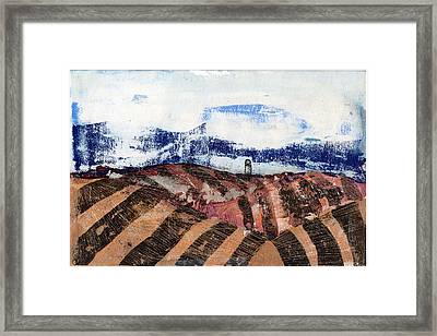 Plowed Spring Framed Print by Jame Hayes