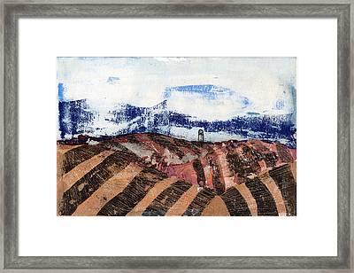 Plowed Spring Framed Print by Jame Hayes