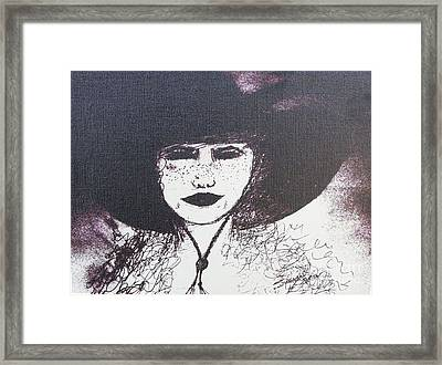 Plum Gorgeous Framed Print by Susan Gahr
