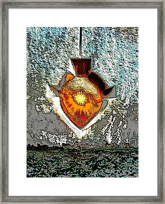Plumb Crazy Framed Print