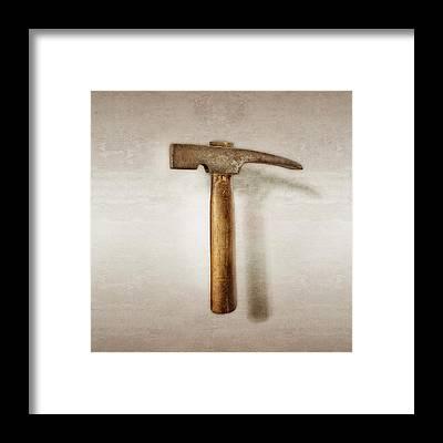 Hammer Framed Prints