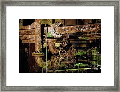 Plumbing Framed Print