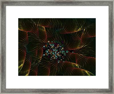 Plume Framed Print by Ricky Kendall
