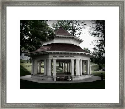 Pluto Springs Framed Print by Cheryl Helms