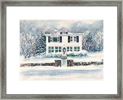 Plym And Proper  Framed Print