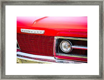 Plymouth 1 Framed Print