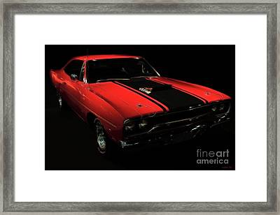 Plymouth Duster 440s Beep Beep Framed Print by Wingsdomain Art and Photography