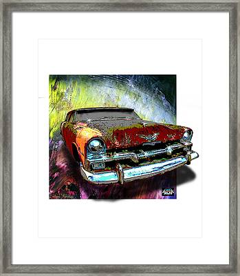 Plymouth From The Past Framed Print