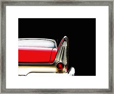 Plymouth Fury Fin Detail Framed Print