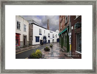Plymouth Gin Distillery Framed Print by Donald Davis